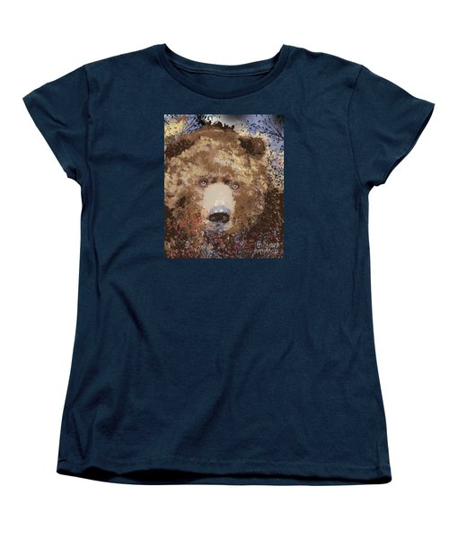 Visionary Bear Women's T-Shirt (Standard Cut) by Kim Prowse