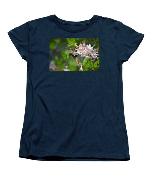 Women's T-Shirt (Standard Cut) featuring the photograph Visitor by Tara Potts