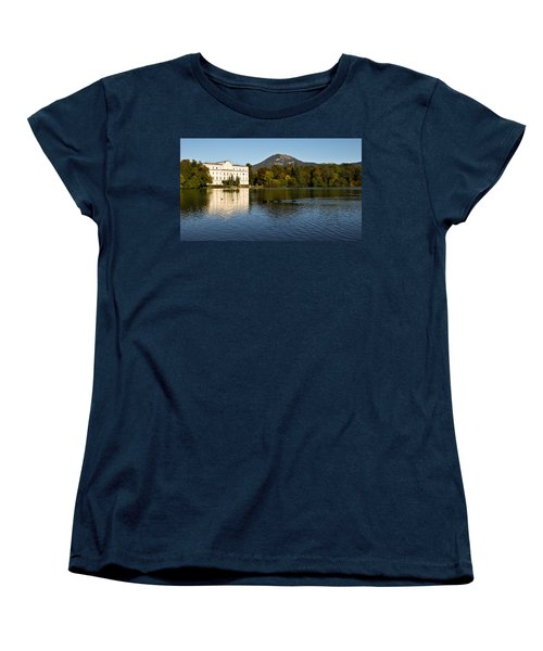 Women's T-Shirt (Standard Cut) featuring the photograph Von Trapp's Mansion by Silvia Bruno