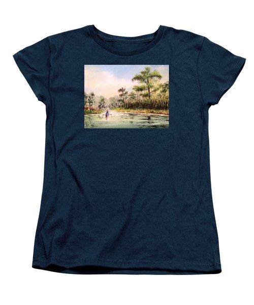 Wacissa River  Women's T-Shirt (Standard Cut) by Bill Holkham
