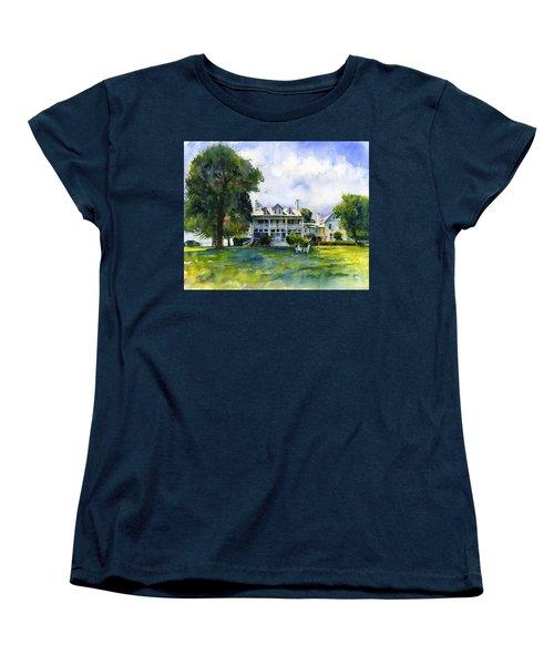 Wades Point Inn Women's T-Shirt (Standard Cut) by John D Benson