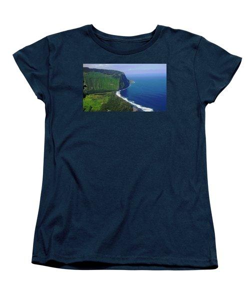Waipio Valley Women's T-Shirt (Standard Cut) by Pamela Walton