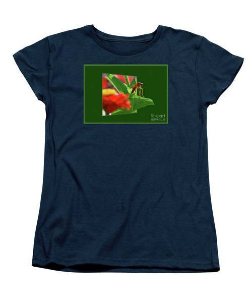 Women's T-Shirt (Standard Cut) featuring the photograph Waiting For A Date by Thomas Woolworth