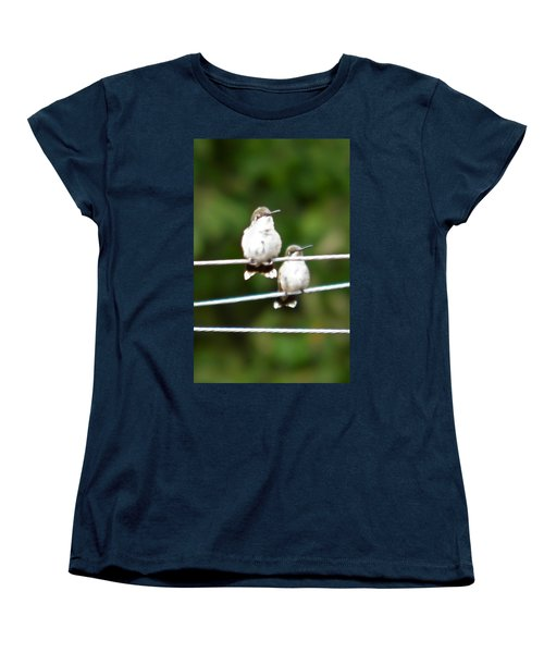 Women's T-Shirt (Standard Cut) featuring the photograph Waiting Our Turn by Nick Kirby