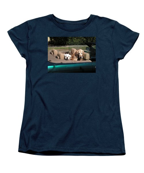 Waiting Patiently Women's T-Shirt (Standard Cut) by Cheryl Hoyle