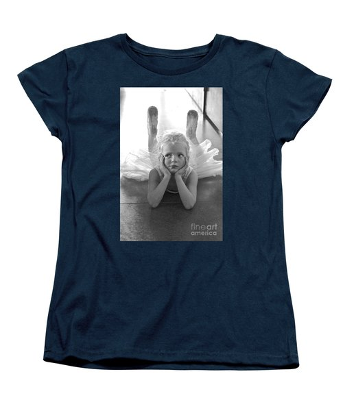 Waiting To Begin Women's T-Shirt (Standard Cut) by Suzanne Oesterling