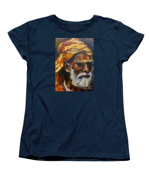 Wandering Sage Small Women's T-Shirt (Standard Cut) by Mukta Gupta