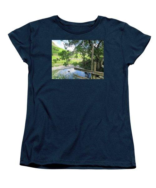 Wasdale Head Stile Women's T-Shirt (Standard Cut) by Kathy Spall