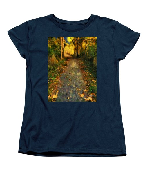 Washed In Gold Women's T-Shirt (Standard Cut) by RC deWinter