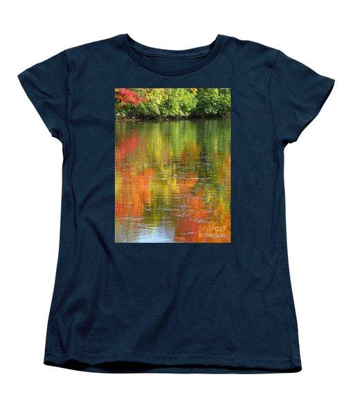 Water Colors Women's T-Shirt (Standard Cut) by Ann Horn