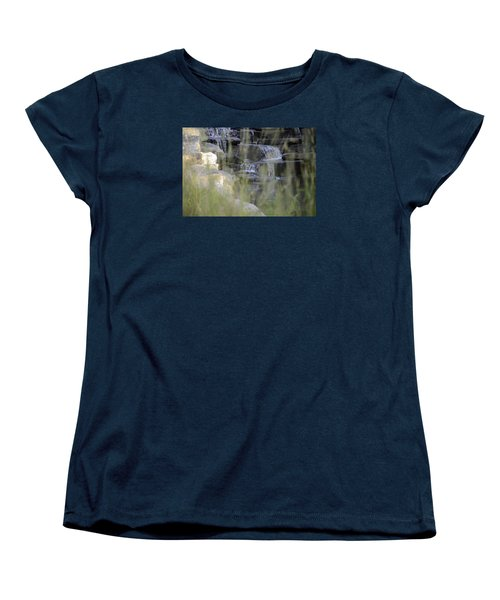 Women's T-Shirt (Standard Cut) featuring the photograph Water Is Life 1 by Teo SITCHET-KANDA
