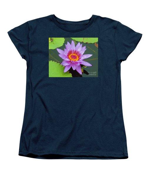 Water Lilies 005 Women's T-Shirt (Standard Cut) by Robert ONeil
