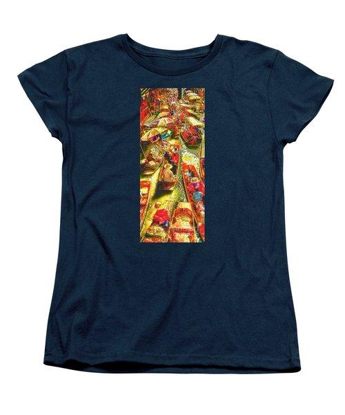 Water Market Women's T-Shirt (Standard Cut) by Mo T