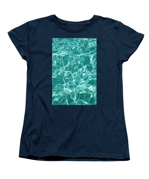 Water Meditation I. Five Elements. Healing With Feng Shui And Color Therapy In Interior Design Women's T-Shirt (Standard Cut) by Jenny Rainbow