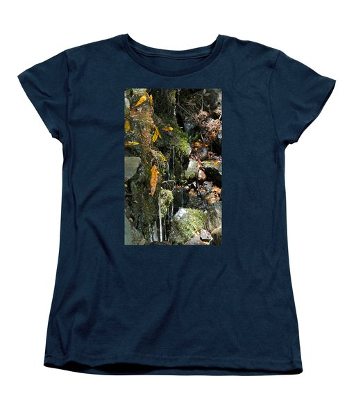 Women's T-Shirt (Standard Cut) featuring the photograph Water Of Life by Michele Myers