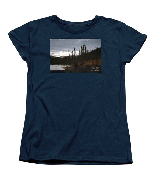 Women's T-Shirt (Standard Cut) featuring the photograph Water Paint by Brian Boyle