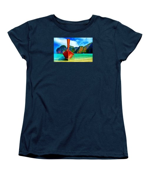 Watermarked-a Dreamy Version Collection Women's T-Shirt (Standard Cut) by Catherine Lott