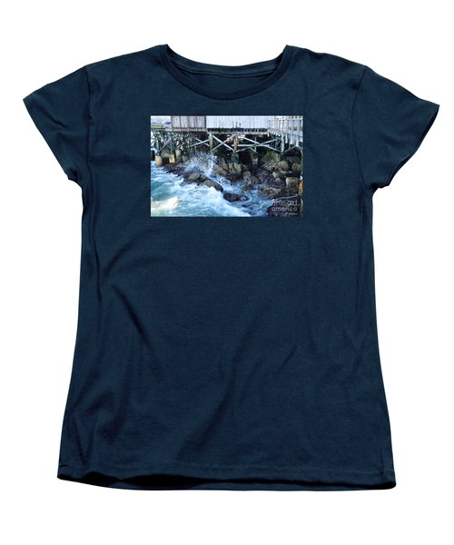 Wave Action Women's T-Shirt (Standard Cut) by Susan Wiedmann