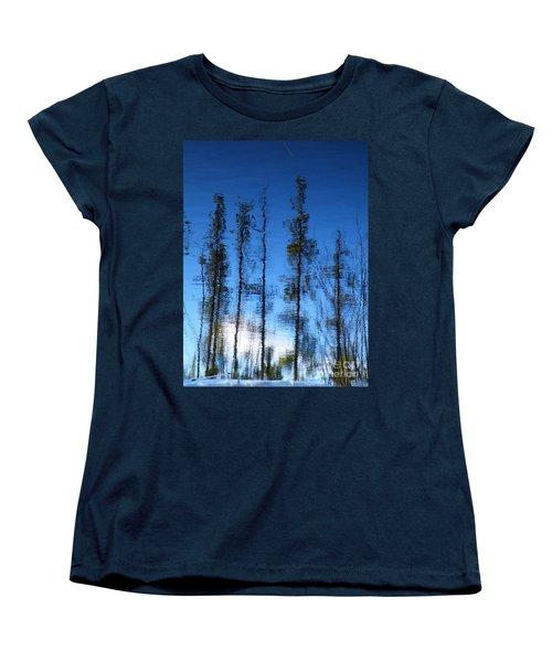 Wavering Women's T-Shirt (Standard Cut) by Brian Boyle