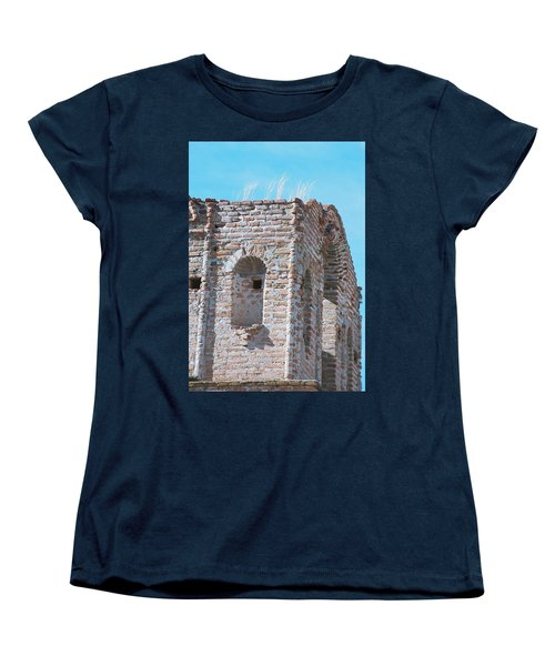 Women's T-Shirt (Standard Cut) featuring the photograph Waving To The Sky by Kerri Mortenson