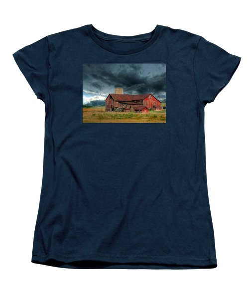 Weathering The Storm Women's T-Shirt (Standard Cut) by Lori Deiter