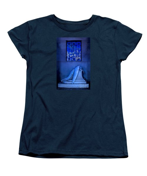 Weeping Angel Women's T-Shirt (Standard Cut) by Jerry Fornarotto
