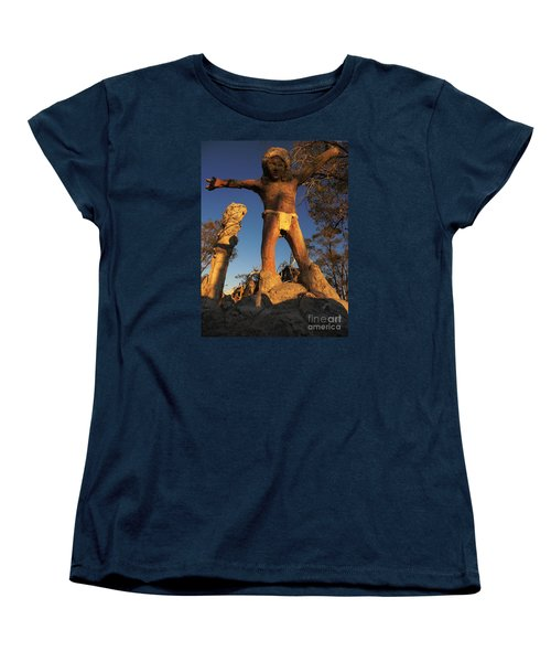 Women's T-Shirt (Standard Cut) featuring the photograph Welcome by Janice Westerberg