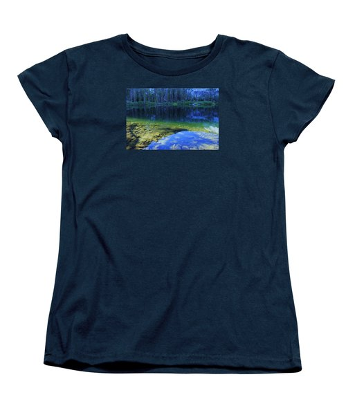 Women's T-Shirt (Standard Cut) featuring the photograph Welcome To Eagle Lake by Sean Sarsfield