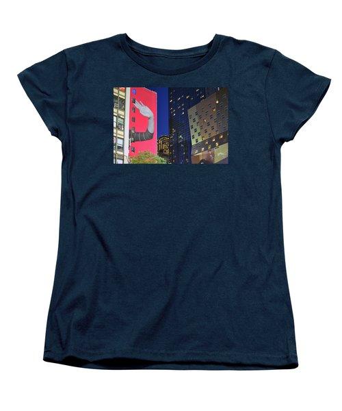 Welcome To New York Women's T-Shirt (Standard Cut) by Jeffrey Friedkin