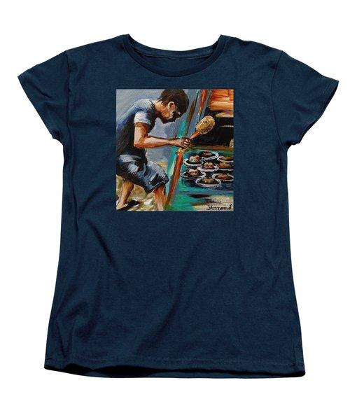 Whack A Mole Women's T-Shirt (Standard Cut) by Karen  Ferrand Carroll