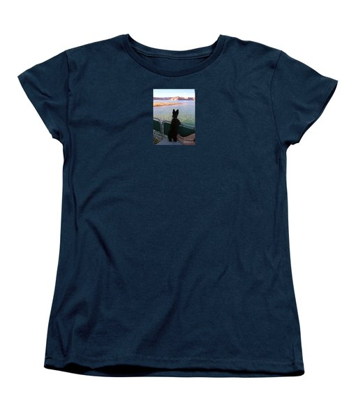 What A View Women's T-Shirt (Standard Cut) by Michele Penner