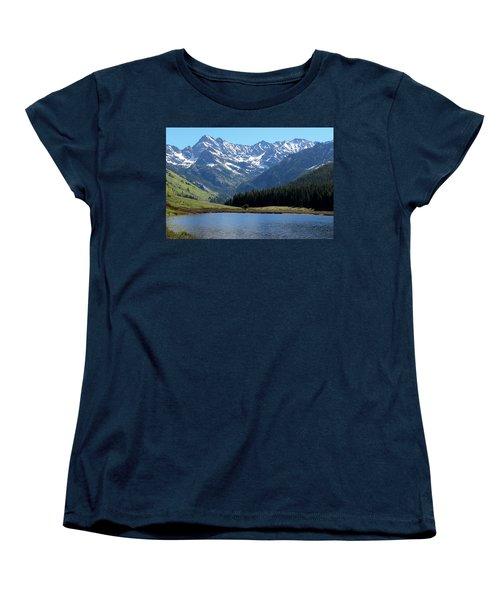 Beautiful Colorado Women's T-Shirt (Standard Cut) by Fiona Kennard