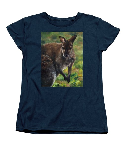 What'ch Ya Doin' Women's T-Shirt (Standard Cut) by Lori Brackett