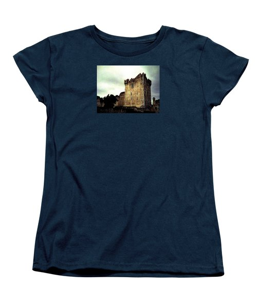 Women's T-Shirt (Standard Cut) featuring the photograph Whispers And Footsteps by Angela Davies