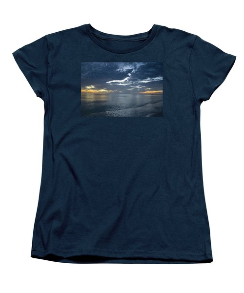 Women's T-Shirt (Standard Cut) featuring the photograph Whispers At Sunset by Melanie Moraga