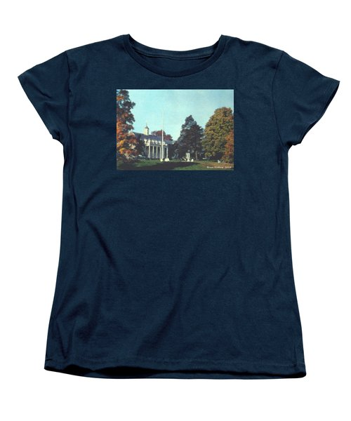 Whittle Hall Women's T-Shirt (Standard Cut) by Bruce Nutting
