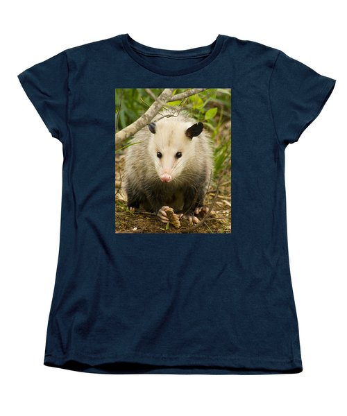 Who Says Possums Are Ugly Women's T-Shirt (Standard Cut) by Kathy Clark
