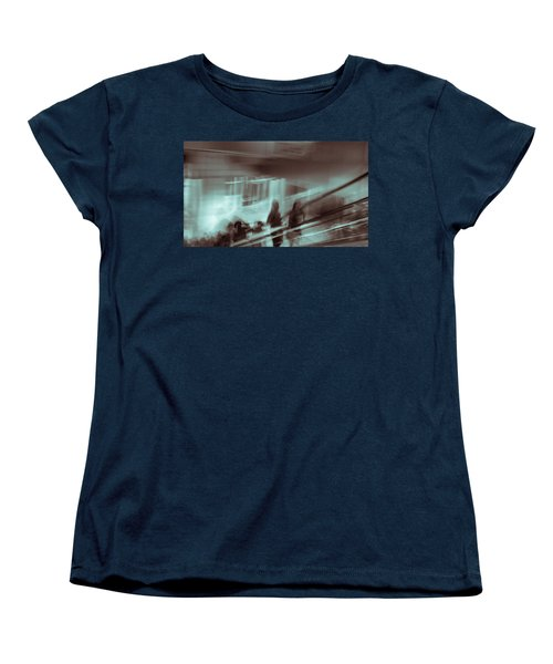 Women's T-Shirt (Standard Cut) featuring the photograph Why Walk When You Can Ride by Alex Lapidus