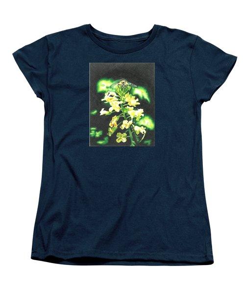 Wild Flower Women's T-Shirt (Standard Cut) by Troy Levesque