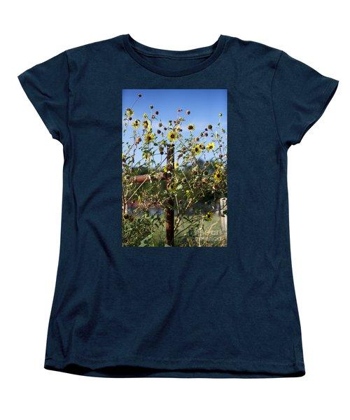 Women's T-Shirt (Standard Cut) featuring the photograph Wild Growth by Erika Weber