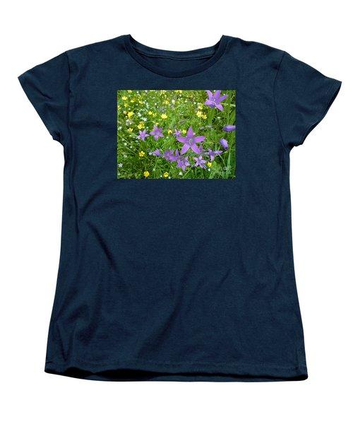 Wildflower Garden Women's T-Shirt (Standard Cut) by Martin Howard