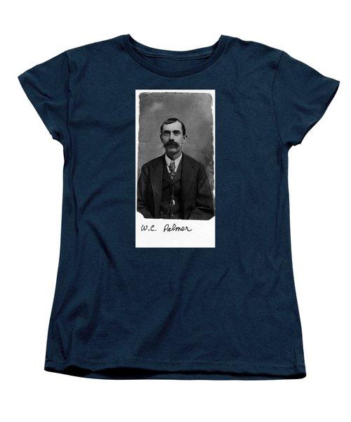 William Calvin Palmer Women's T-Shirt (Standard Cut) by Karon Melillo DeVega