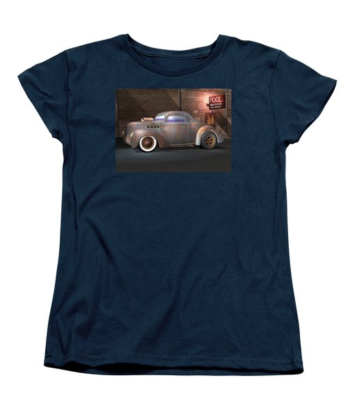 Willys Street Rod Women's T-Shirt (Standard Cut) by Stuart Swartz