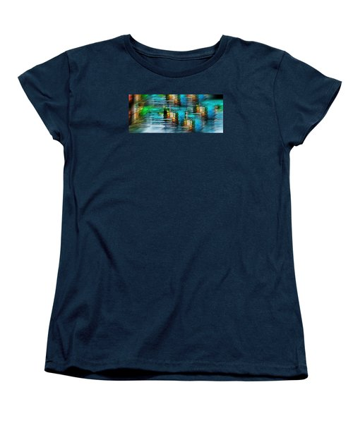 Women's T-Shirt (Standard Cut) featuring the photograph Windows Into The Blue by Pamela Blizzard