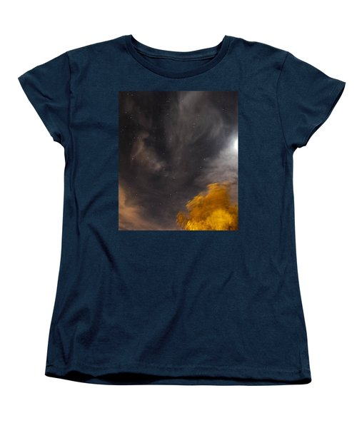 Windy Night Women's T-Shirt (Standard Cut) by Angela J Wright