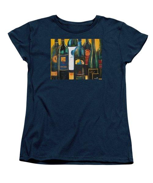 Wine Bar Women's T-Shirt (Standard Cut) by Sheri  Chakamian