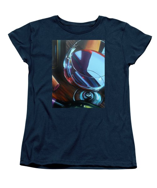 Wine Reflections Women's T-Shirt (Standard Cut)