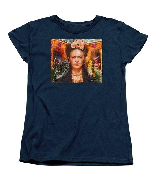 Wings Of Frida Women's T-Shirt (Standard Cut) by Mo T