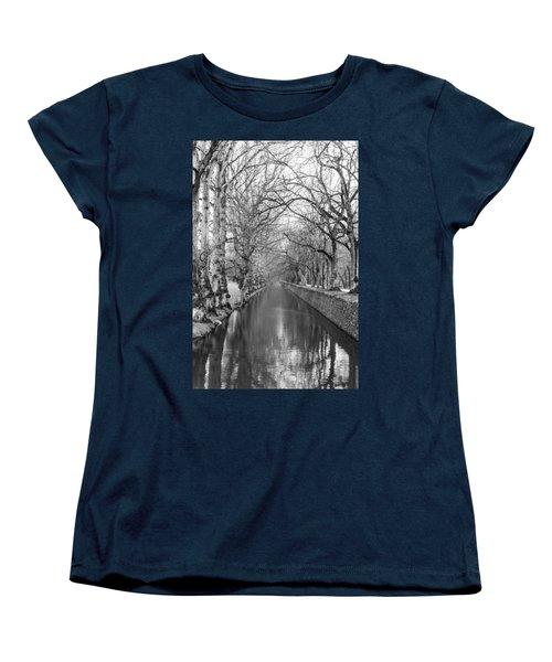 Winter Women's T-Shirt (Standard Cut) by Alex Lapidus