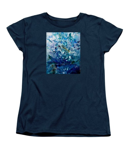 Winter Bouquet Women's T-Shirt (Standard Cut) by Lisa Kaiser